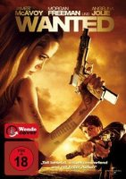 Wanted - James McAvoy, Angelina Jolie - DVD