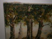 Bild - Ölgemälde auf Leinwand - Landschaft mit...