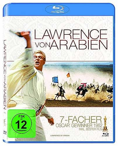 Lawrence von Arabien - 2 Disc - Restored Version - Blu-ray - NEU