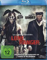 Lone Ranger - Johnny Depp - Blu-ray