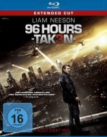 96 Hours - Taken 3 - Extended Cut - Blu-ray - NEU