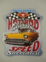 Blechschild - Wandschild - Gestanzt - Hot Rod Classic -...