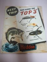 Blechschild - Next Trip Heddon - Take along the Top 3 -...