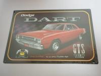 Blechschild - Dodge Dart GTS 383 Magnum - 42,5 x 30 cm