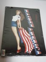 Blechschild - Maiden America - Geprägt - 30 x 40 cm
