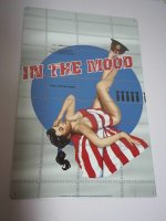 Blechschild - In the Mood - US Army - Pin-Up Girl  - 27,5...