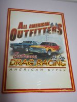 Blechschild - All American Outfitters - Extreme Drag...