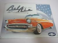 Blechschild - Chevrolet - 50th Anniversary - 40 x 31,5 cm