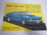 Blechschild - Ford - Meet the new Boss 429 - 40,5 x 31,5 cm