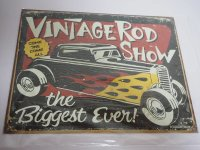 Blechschild - Vintage Road Show - The Biggest Ever - 40,5...