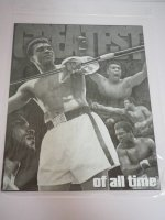 Blechschild - Greatest of All Time - Muhammad Ali - 31,5...