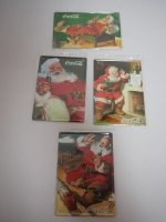 Blechschild - Coca Cola - Santa Claus - 4er Set - je ca....