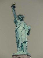 Blechschild - Lady Liberty - Freiheitsstatue - 26 x 75 cm