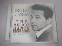 Billy Mize - The Melody Ranch Recordings - CD
