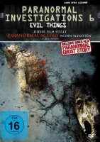 Paranormal Investigations 6 - Evil Things - DVD