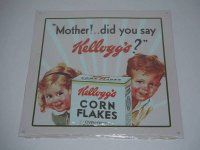 Blechschild - Kellogg´s - Mother! ... did you say...