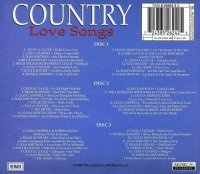 Various - Country Love Songs - 3 CDs