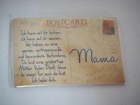 Kühlschrank Magnet - Postkarte - Mama - Ick kann mit...