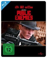 Public Enemies - Johnny Depp - Steelbook - Blu-ray