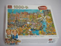 Puzzle - Amsterdam King´s Day - Comic Collection -...