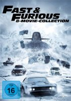 Fast & Furious - 8 Movie Collection - 8 DVDs - NEU