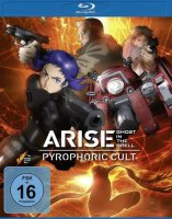 Ghost in the Shell - ARISE - Pyrophoric Cult - Blu-ray - NEU