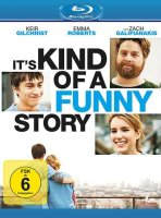 Its Kind of a Funny Story - Emma Roberts - Blu-ray