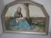 Bild - Druck - Heiligenbild - Maria mit Jesus Kind - 8...