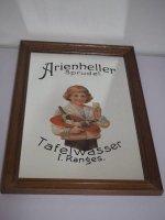 Bild - Spiegelbild - Arienheller Sprudel - Holzrahmen -...