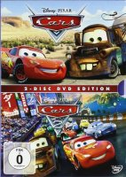 Cars / Cars 2 - 2 DVDs