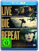 Edge of Tomorrow - Live.Die.Repeat - 2D + 3D Blu-ray