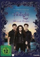 Twilight-Saga Complete Collection - Softbox - 11 DVDs