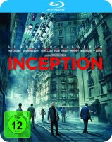 Inception - Leonardo DiCaprio - Steelbook - Blu-ray