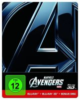 Marvels The Avengers - Steelbook - 2D + 3D Blu-ray