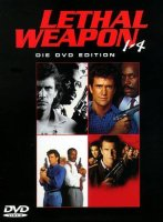 Lethal Weapon 1-4 - 4 DVDs