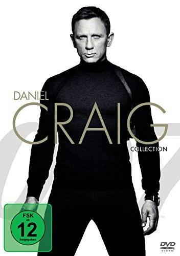James Bond 007 - Daniel Craig Collection - 4 DVDs