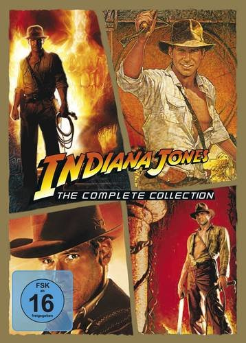 Indiana Jones - The Complete Collection - 4 DVDs