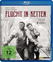 Flucht in Ketten - Tony Curtis, Sidney Poitier - Blu-ray...