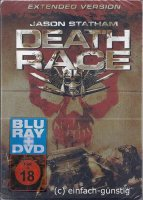 Death Race - Extented Version - Steelbook - DVD + Blu-Ray