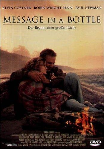 Message in a Bottle - Kevin Costner, Robin Wright - DVD