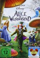 Alice im Wunderland - Johnny Depp - DVD