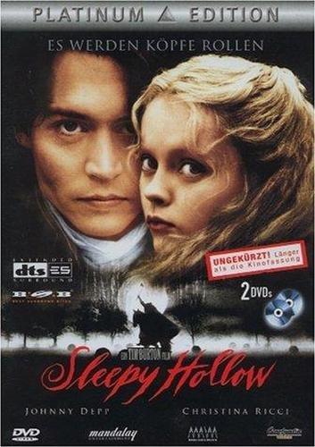 Sleepy Hollow - Platinum Edition - 2 DVDs