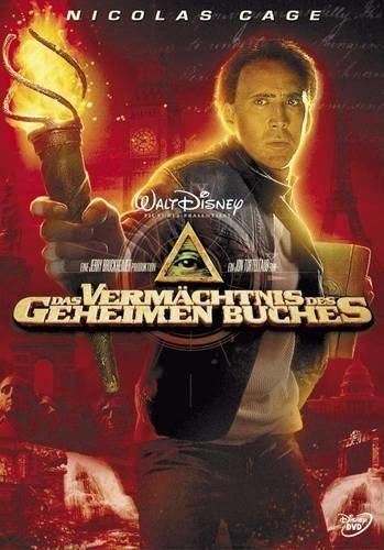 Das Vermächtnis des geheimen Buches - Nicolas Cage - DVD