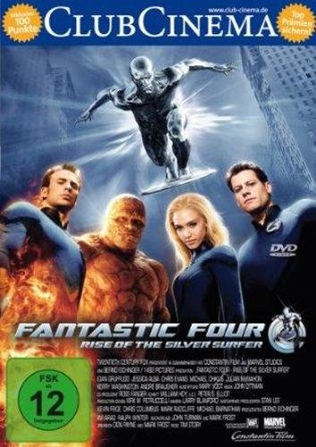 Fantastic Four - Rise of the Silver Surfer - DVD