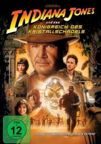 Indiana Jones - Königreich des Kristallschädels - DVD