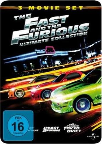 The Fast and the Furious - Ultimate - 3 Movie Steelbook - DVD